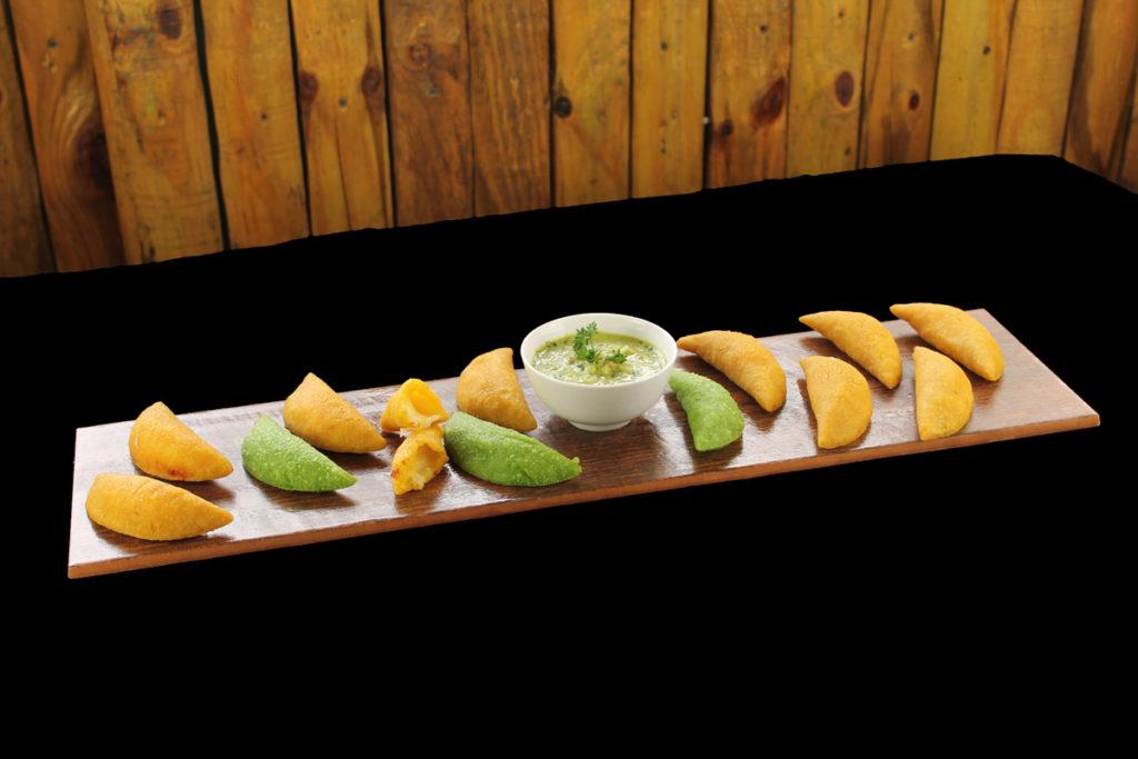 House-made Bite-Size Empanadas & Salsa Verde